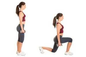 Body Weight Lunges