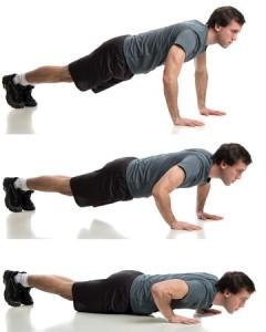 Body Weight Push Ups