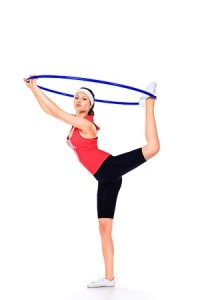 Hula Hooping Exercise