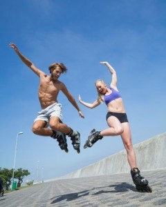 Rollerblading For Fitness… Toned Legs And Glutes!