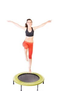 Bounce Your Way To Fit With Trampolining