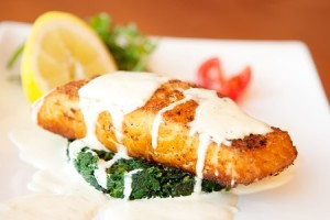 Tangy Creamy Salmon Fillets