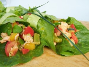 Sweet Turkey Lettuce Wraps