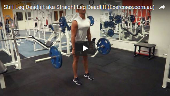 Straight Leg Deadlifts
