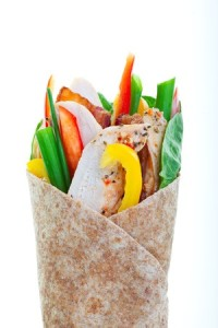 Sweet Turkey Wrap Recipe