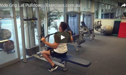 Wide Grip Lat Pulldowns