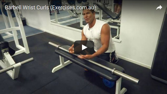 Barbell Wrist Curls