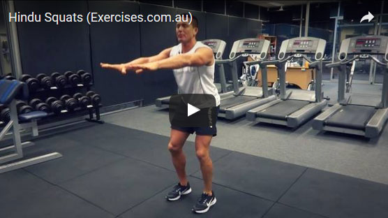 Hindu Squats | exercises.com.au