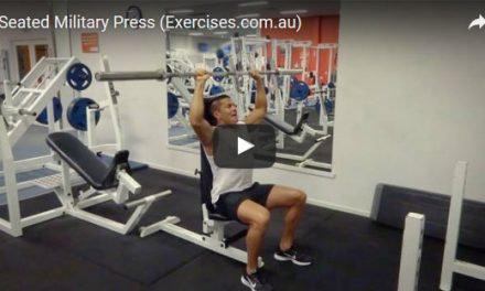 Seated Military Press