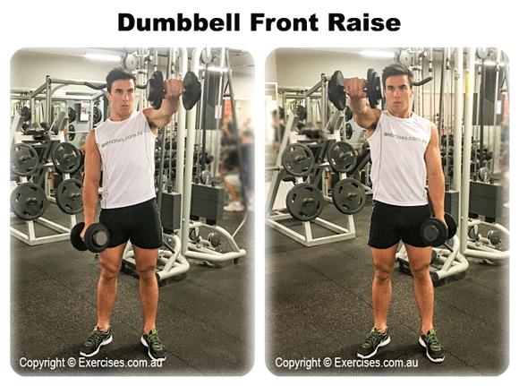 Dumbbell Front Raise