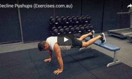 Decline Pushups