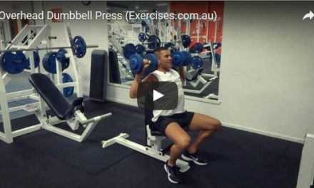 Overhead Dumbbell Press