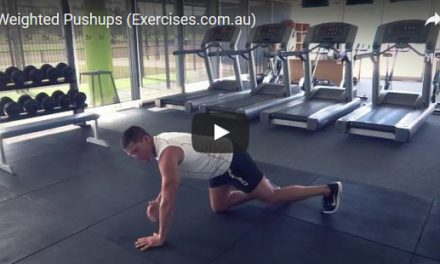 Weighted Pushups