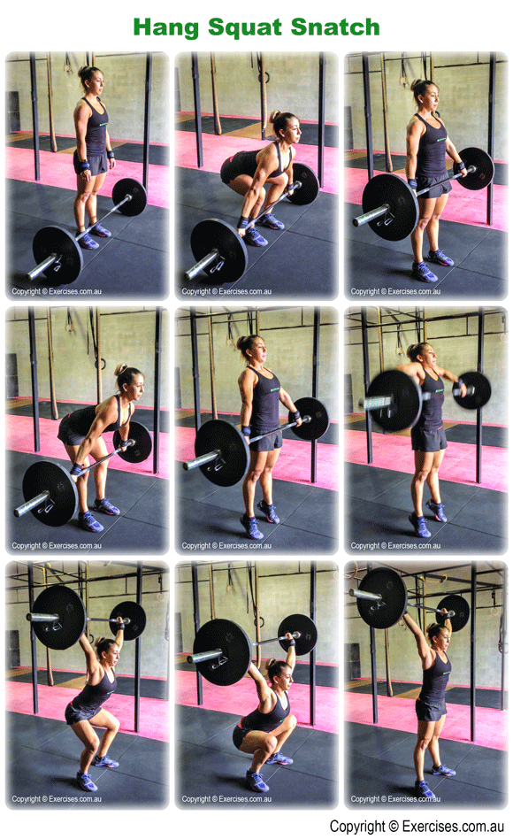 Hang Squat Snatch