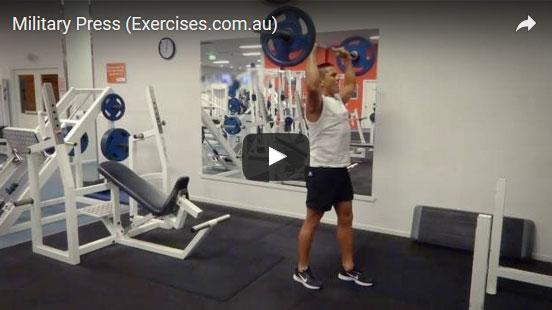 Military Press | exercises.com.au