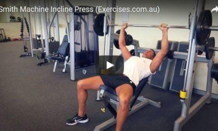 Smith Machine Incline Press
