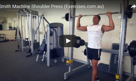 Smith Machine Shoulder Press