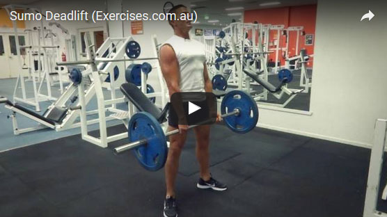 Sumo Deadlift Form Exercises