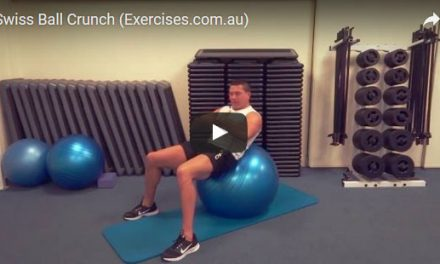 Swiss Ball Crunches