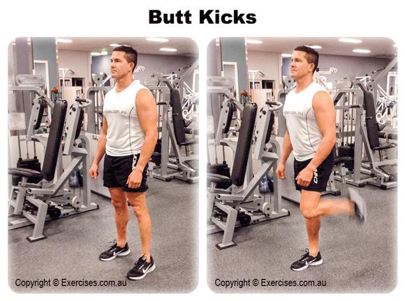 Butt Kicks