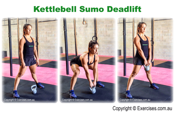 Kettlebell Sumo Deadlift