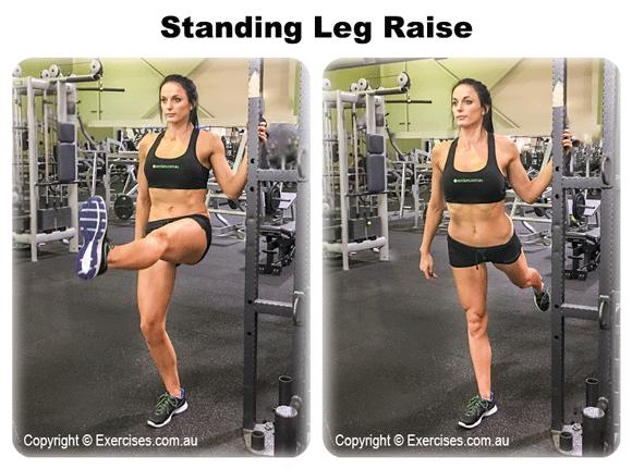 Standing Leg Raises