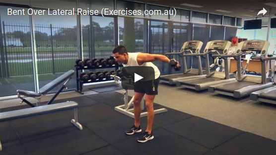 Bent Over Lateral Raises