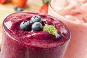 Cucumber Blueberry Smoothie