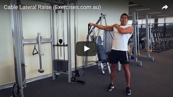Cable Lateral Raises