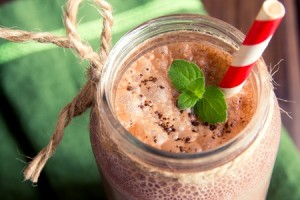 Chocolate Mint Smoothie