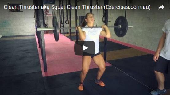 Squat Clean Thrusters