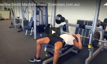 Decline Smith Machine Press