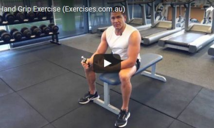 Hand Grip Exercise