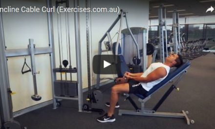 Incline Cable Curl