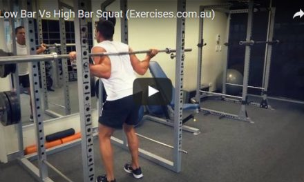 High Bar Squat
