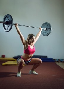 Overhead Barbell Squats