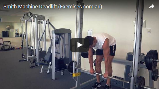 Smith Machine Deadlifts