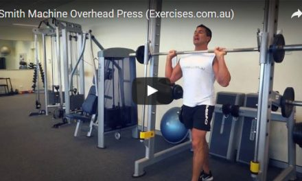 Smith Machine Overhead Press