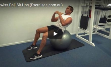 Swiss Ball Sit Ups