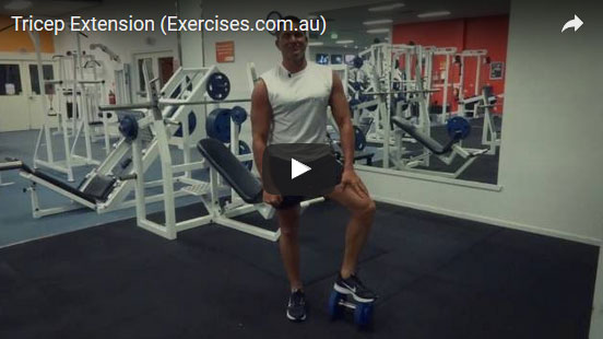 Standing Tricep Extension