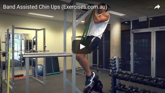 Band Assisted Chin Ups
