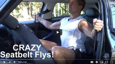Car Exercises Seatbelt Flys