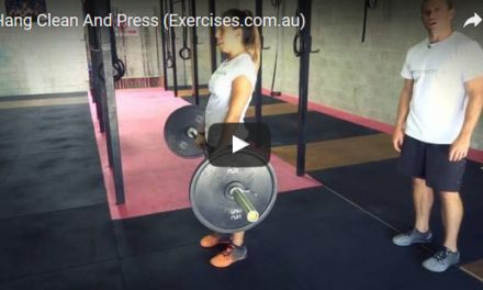 Hang Clean And Press