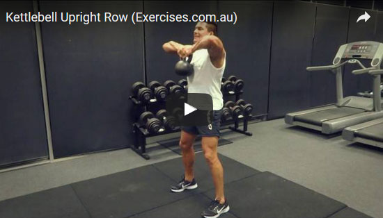 Kettlebell Upright Rows