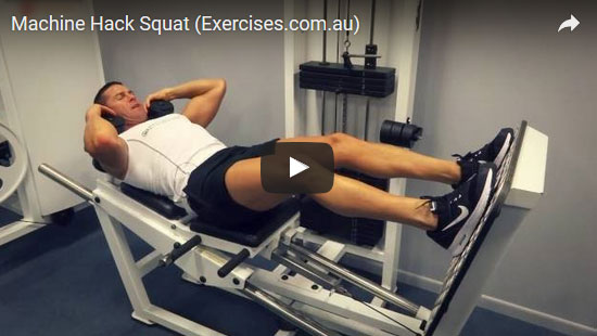 Machine Hack Squat