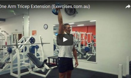 One Arm Tricep Extension