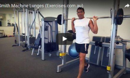 Smith Machine Lunges