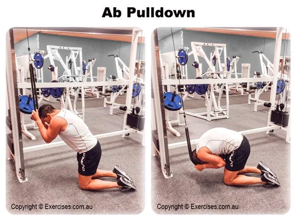 Ab Pulldown