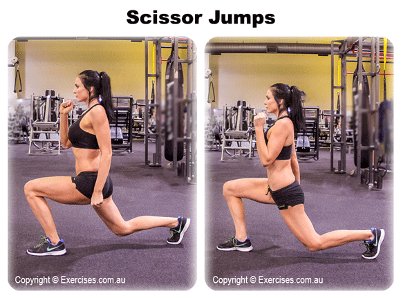 Scissor Jumps