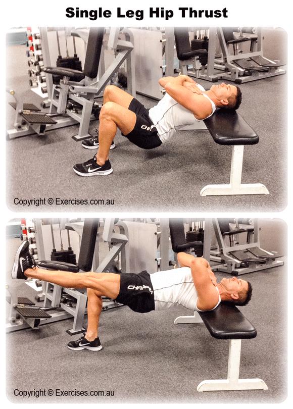 Single Leg Hip Thrust